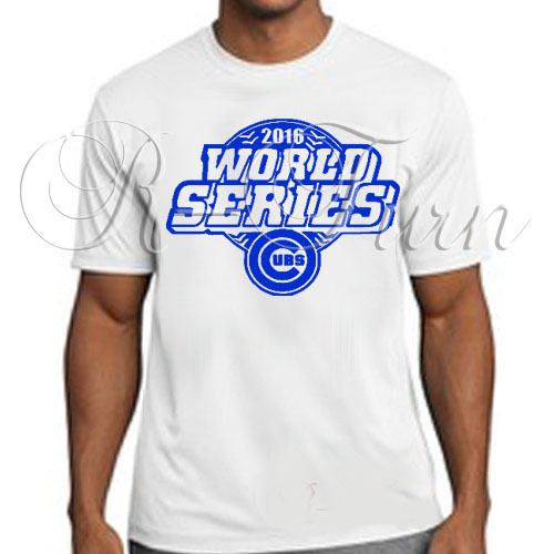 13d70dd2 2016 Chicago Cubs World Series Champions T-Shirt – R-Turn Customs